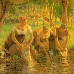 Washerwomen, Eragny-sur-Epte, 1895