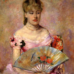 Lady with a Fan, 1880