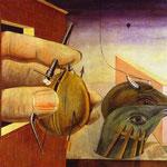 Edipo re - 1922 - Olio su tela