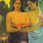 Deux femmes Tahitiennes, 1899