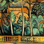 Georges Braque - Terrazza Mistral Hotel (1907)
