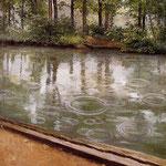 The Yerres, Rain, 1875
