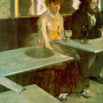 In a Cafe (The Absinthe Drinker), 1876