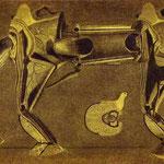 Un peu malade le cheval patte pelu..., 1920