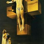 Crocifissione -1954 - Olio su tela.