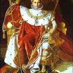 Napoleone sul trono imperiale - 1806