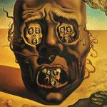 Il volto della guerra - 1940 - Olio su tela