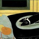 Georges Braque - Pesci neri (1942)