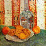 Still Life with Decanter and Lemons on a Plate, 1887