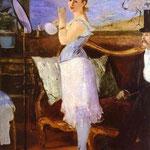 Edouard Manet - Nana - 1877 - Olio su tela