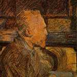Ritratto di Vincent Van Gogh - 1887