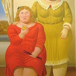 Fernando Botero - Due sorelle (2006)