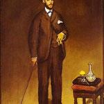 Edouard Manet - Ritratto di Théodore Duret - 1868 - Olio su tela