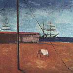 Carlo Carrà - Mattino al mare