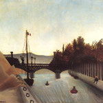 Footbridge at Passy, 1895