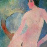 Nudo con la sedia, 1929