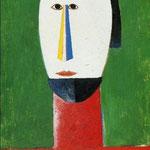 Kazimir Malevich - Testa di donna