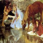 Retrato de mademoiselle E.F. a proposito del ballet La Source