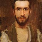Piet Mondrian - Autoritratto - 1900 - Olio su tela