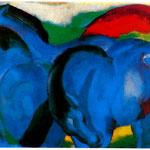 Il piccolo cavallo blu