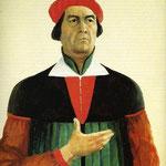 Kazimir Malevich - Autoritratto (1933)