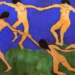 La Danza (prima versione) - 1909 - Olio su tela