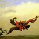 L'angelo del focolare - 1937 - Olio su tela