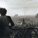 Les amoureux de la Bastille, Paris, 1957