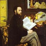 Edouard Manet - Ritratto di Emile Zola - 1867/1868 - Olio su tela
