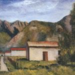Carlo Carrà - La casa del pazzo