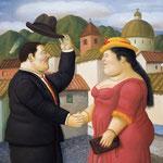 Fernando Botero - Uomo e donna (2001)
