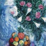 Frutta e Fiori - 1929 - Olio su tela