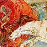 Carlo Carrà - I Cavalieri dell'apocalisse  (1908)