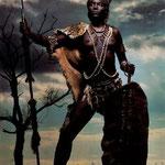 Luglio - Tracy Hudson impersona Nzinga Mbande, che ha combattuto contro gli invasori portoghesi in Angola.