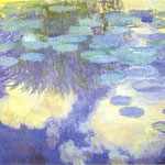 Claude Monet - Ninfee - 1917 - Olio su tela