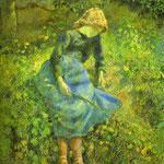 La pastorella - 1881 - Olio su tela