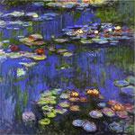 Claude Monet - Ninfee - 1914 - Olio su tela