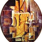 Violino - 1912 - Colore della carta