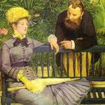 Edouard Manet - Il Conservatorio - 1878/1879 - Olio su tela