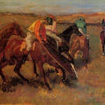 Before the Race, 1882