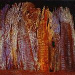 Visione indotta dall'aspetto notturno della porta di Saint-Denis - 1927 - Olio su tela