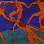 La Danza - 1910 - Olio su tela