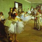 Esame di danza - 1874 - Olio su tela