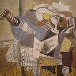 Georges Braque - Il mandolino blu (1930)