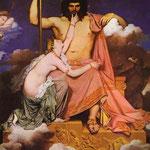 Giove e Teti - 1811