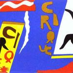 Il Circo - 1947 - Illustrazione per il libro 'Jazz'