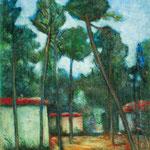 Carlo Carrà - Pineta di Forte dei Marmi (1938)