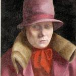 Ritratto di signora con cappello