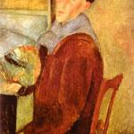 Amedeo Modigliani - Autoritratto - 1919 - Olio su tela