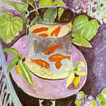Pesce Rosso - 1911 - Olio su tela